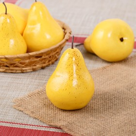 Artificial yellow pear
