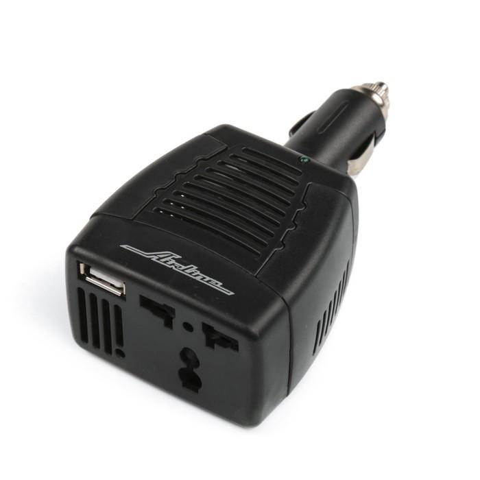 Инвертор Airline API-75-00, 12 В-220 В, 75 Вт, с USB