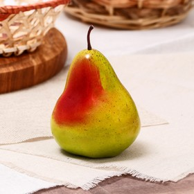 Artificial green pear