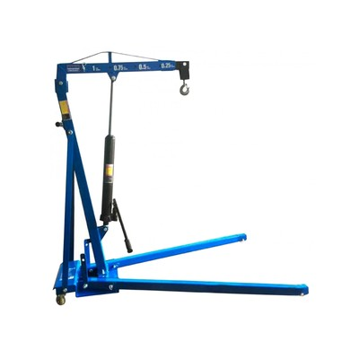 Кран гидравлический AE&T T62301, 1т, складной, низкий въезд, подъем 0-2250мм
