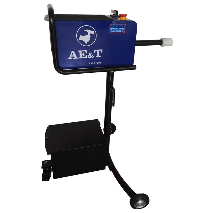 Станок для проточки тормозных дисков AE&T AM-8700M, без снятия с автомобиля, max d=400мм