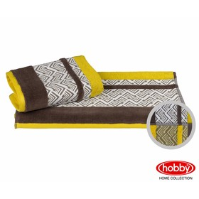 Полотенце Nazende, размер 70 × 140 см, жёлтый