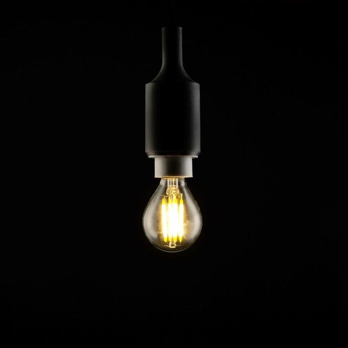 Лампа светодиодная, G45, 4 Вт, E14, 420 Лм, 2700 К, 220-240 В, теплый, прозрачная