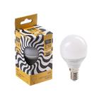 Лампа cветодиодная Luazon Lighting, G45, 7 Вт, E14, 630 Лм, 3000 K, теплый белый