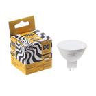 Лампа cветодиодная спот Luazon MR16, GU5.3, 3 Вт, 270 Лм, 3000 K, теплый белый