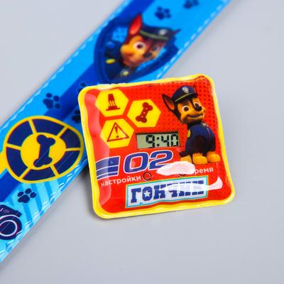 "Paw patrol. Watch wrist electronic ""Gonic"", 22.5 x 4.5 cm"