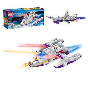 Конструктор «Космическая битва: Боевые корабли», 8 видов, МИКС