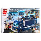 Конструктор «Мобильный полицейский участок», трансформируется в фуру, 951 деталь - фото 105635098