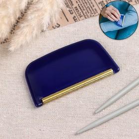 Щётка для удаления катышков, 6 × 5 × 0,5 см