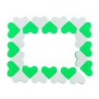 Головоломка «Сердечки», цвет зелёный - фото 1026359