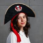 """Шляпа пирата """"Настоящая Королева пиратов"""""""