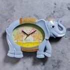 "Watch series: Baby, ""Grey elephant"", 36х24 cm"