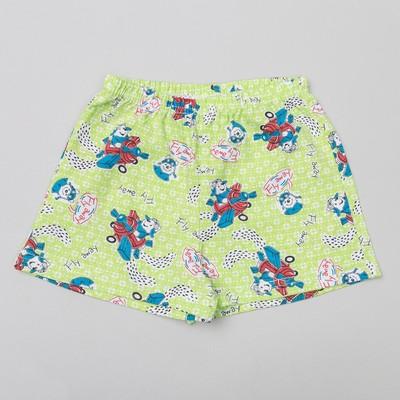Трусы-шорты для мальчика, рост 110 см, цвет микс