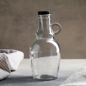 Бутыль для соусов и масла «Луи», 550 мл, 9,5×9,5×19,5 см