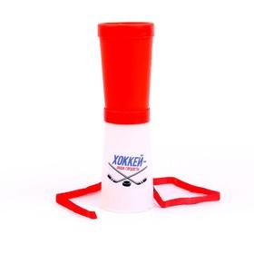 Свисток-гуделка болельщика «Хоккей — наша гордость!», 17 см, цвета МИКС