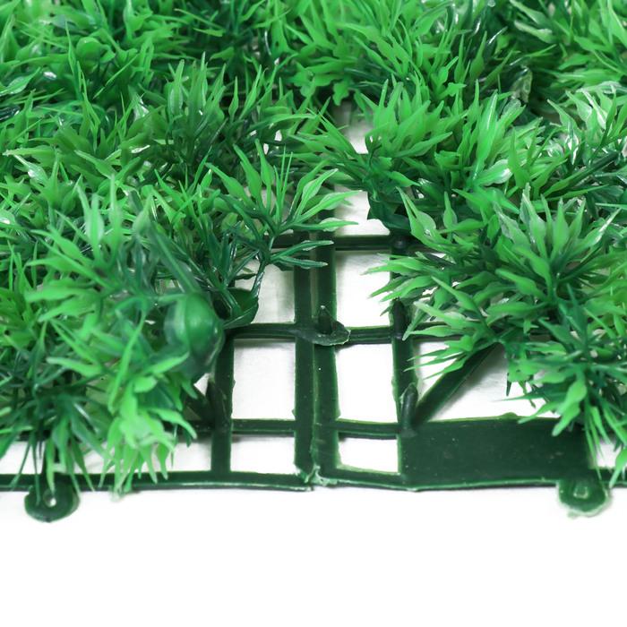 Газон-коврик искусственный, 40 х 60 см, «Аспарагус»