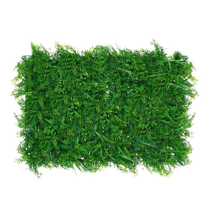 Газон-коврик искусственный, 40 х 60 см, «Сочная трава»