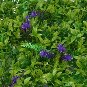 Декоративная панель, 40 × 60 см, «Васильковый луг»