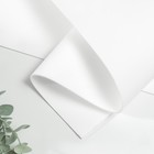 Фоамиран иранский 2 мм (белый/101)  60х70 см