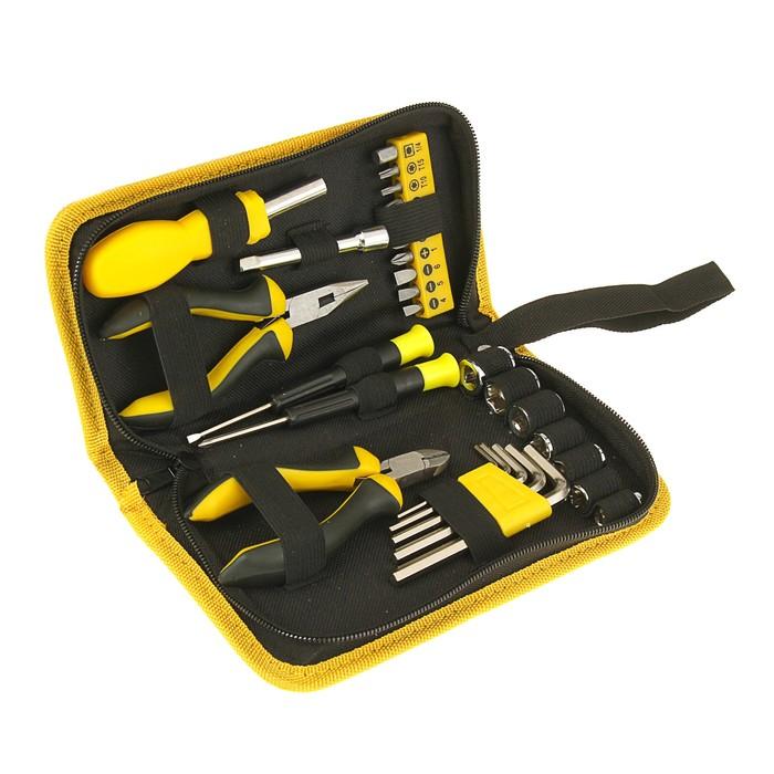 Набор инструмента FIT, 29 предметов, нейлоновая сумка
