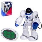 Робот радиоуправляемый «Полицейский», стреляет присосками, световые и звуковые эффекты, работает от аккумулятора