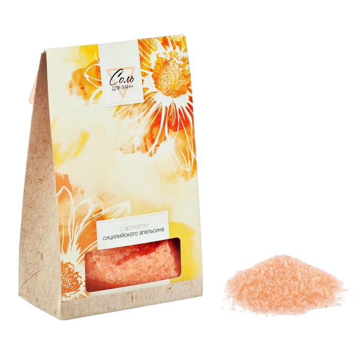 Соль для ванн с ароматом сицилийского апельсина, 400 г