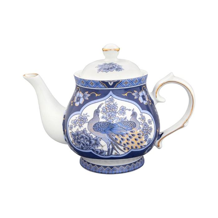 Чайник «Павлин синий», объём 430 мл