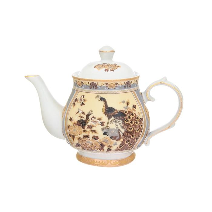 Чайник «Павлин на бежевом», объём 430 мл