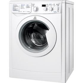 Стиральная машина Indesit IWSD 6105 B (CIS).L, класс A, 1000 об/мин, 6 кг, белая