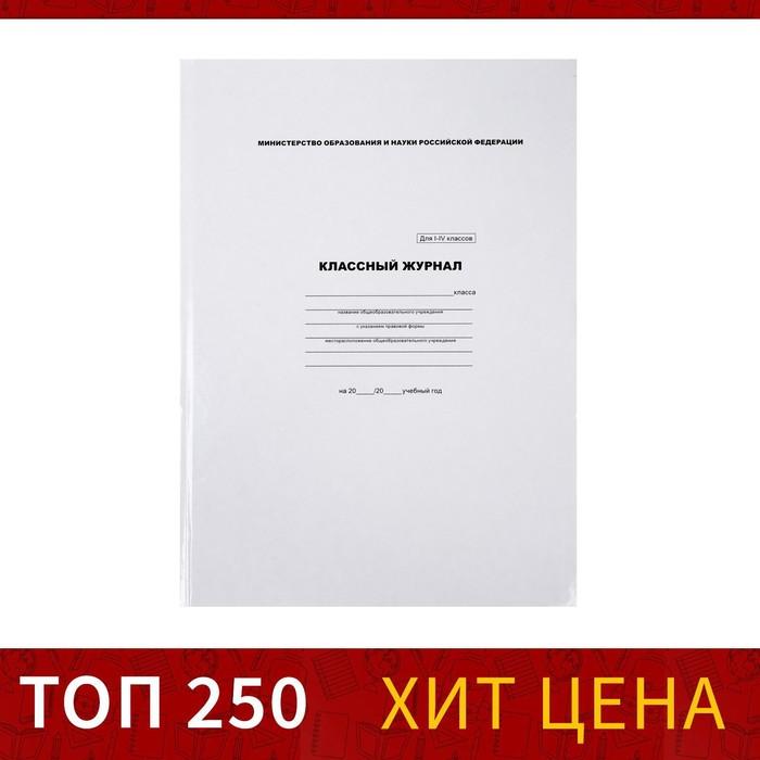 Классный журнал для 1-4 классов 88 листов Calligrata, 7БЦ