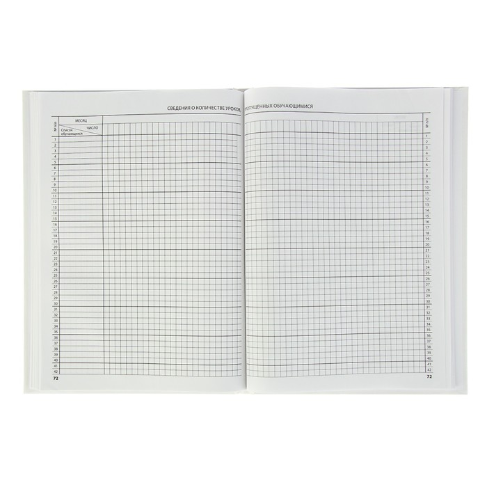 Классный журнал для 5-9 классов 88 листов Calligrata, 7БЦ