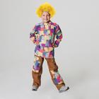 """Детский карнавальный костюм """"Домовёнок"""", рубаха, штаны, р-р 36, рост 128-134 см"""