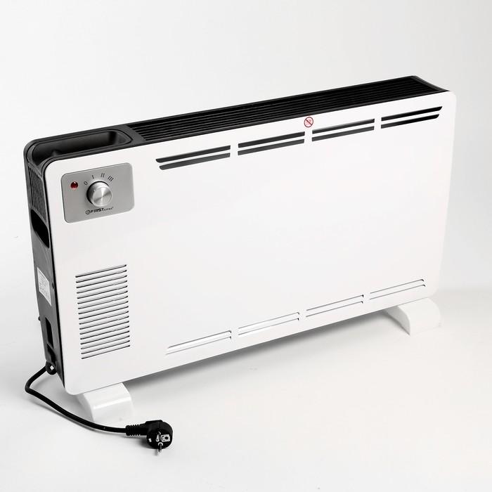 Тепловентилятор FIRST FA-5570-2, 1800 Вт, термостат, белый