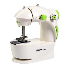 Швейная машинка FIRST FA-5700, 2 скорости, реверс, 4хАА, белая