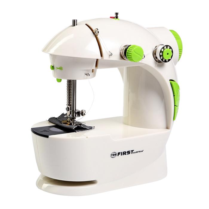 Швейная машина FIRST FA-5700, 2 скорости, реверс, белый