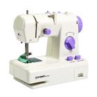 Швейная машина FIRST FA-5700-1, 2 скорости, регулировка длинны стежка, реверс, белый