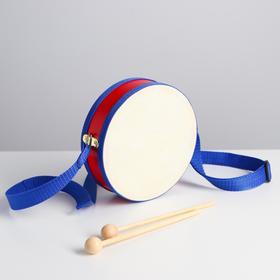 Игрушка музыкальная «Барабан», бумажная мембрана