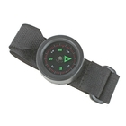 Compass watch with Velcro