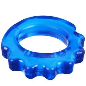 Эспандер кистевой резина в сетке 9 см, нагрузка до 3 кг, цвета МИКС