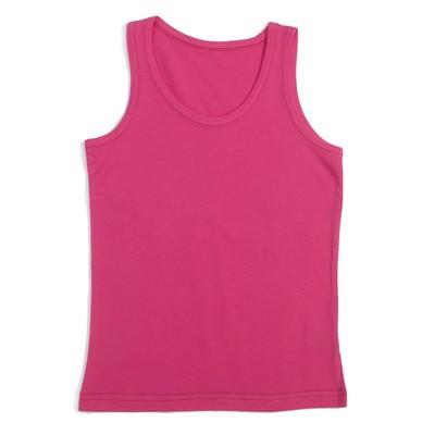 Майка для девочки, рост 110 см, цвет розовый AS03-DD01