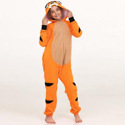 """Комбинезон-кигуруми детский  """"Тигр"""", рост 130 см"""