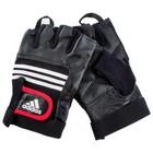 Тяжелоатлетические перчатки (кожа) Leather Lifting Glove  S/M ADGB-12124