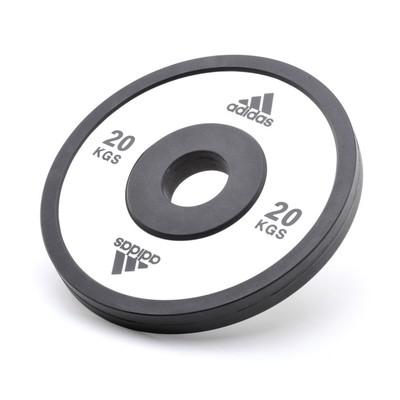 Весовые диски Adidas (50 мм) 20кг  ADWT-10225