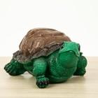 """Садовая фигура """"Черепаха"""" коричневая"""