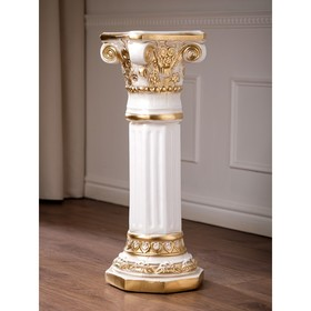 """Подставка напольная """"Колонна Акрополь"""" золото, 75 см"""