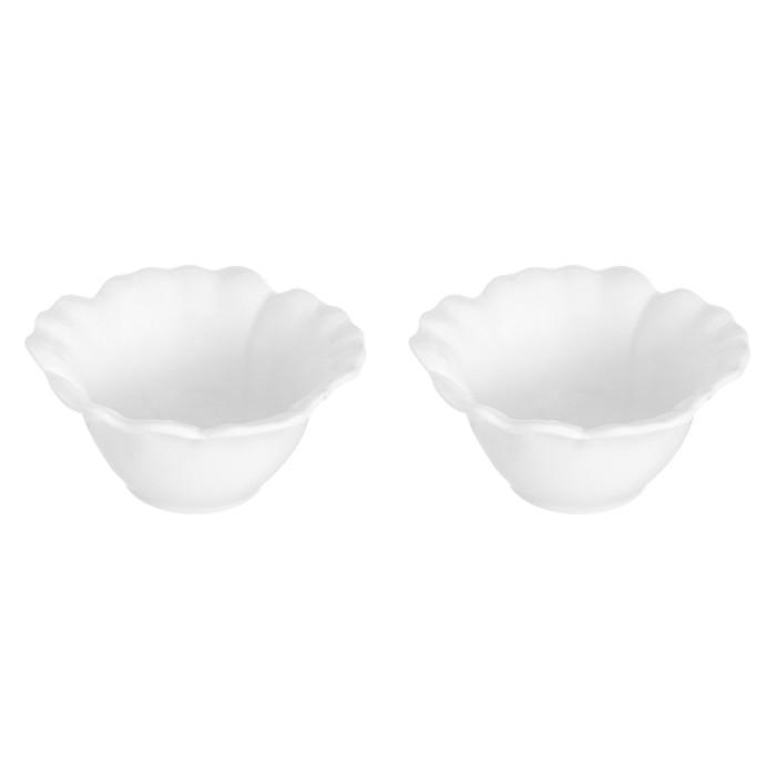 Блюдо сервировочное «Цветок», 2 предмета, объём 140 мл