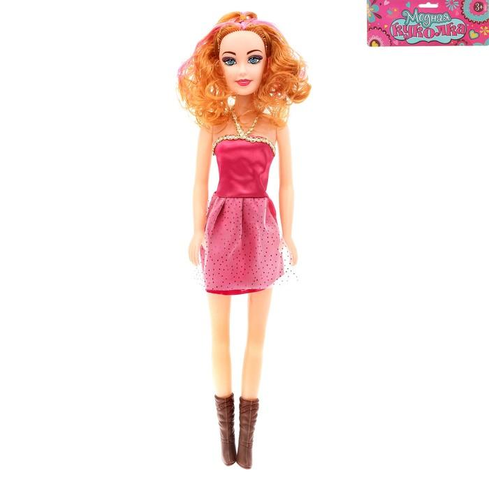 """Кукла """"Стайл"""" с цветными волосами, 41 см, МИКС"""
