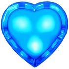 """Светильник ночник """"Сердце""""  LED 0,5Вт голубой"""