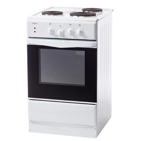 Плита электрическая Лада ЭБЧШ-5-3-55-220 0 W, 4 конф., 54 л, эмаль, без гриля, белая