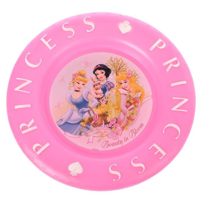 """Тарелка 21 см """"Принцессы"""", рельефная"""